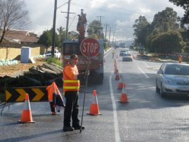 Road Work Tinks Rd Fountain Gate Melbourne